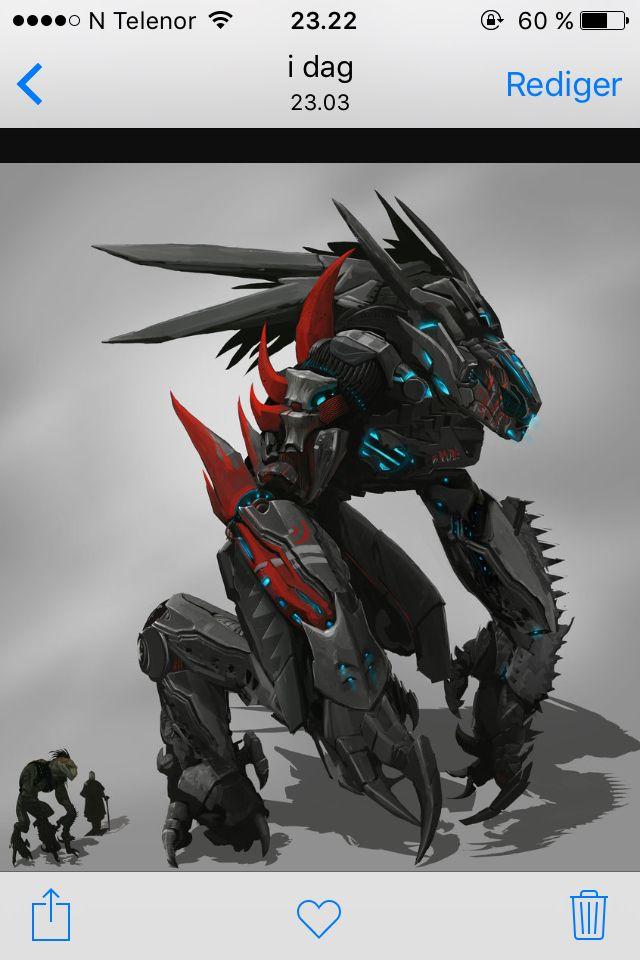 Dragonoid Mech
