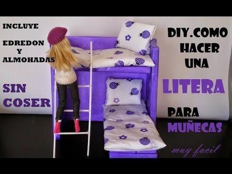 M s de 1000 ideas sobre literas de mu eca en pinterest - Como hacer una litera ...