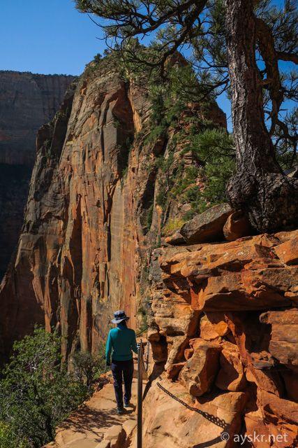 激走グランドサークル Day2 ザイオン国立公園 360度の恐怖と絶景 エンジェルスランディング – ayskr.net