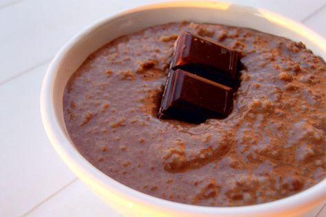 Semoule au chocolat au Thermomix                                                                                                                                                                                 Plus