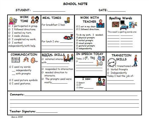 88 best Parent Communication Logs, and Parent Volunteer Letters - communication log template