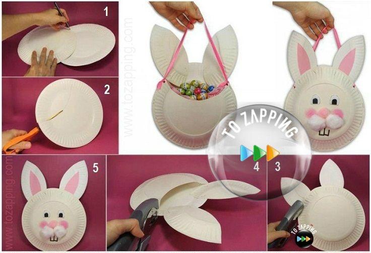 M s de 25 ideas incre bles sobre manualidades con platos - Platos faciles de hacer ...