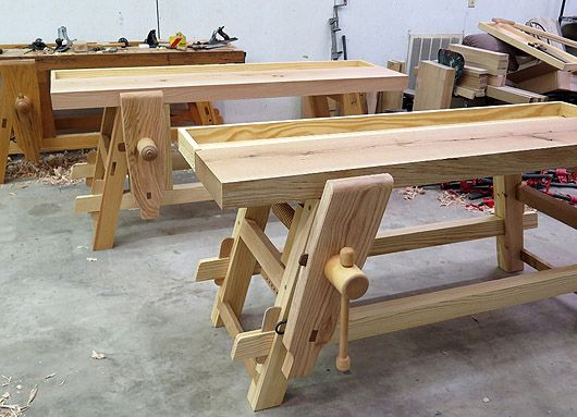 Ratcheting Parallel Guide and Angled Leg Vises | Woodworking Benches | Pinterest | Woodworking ...