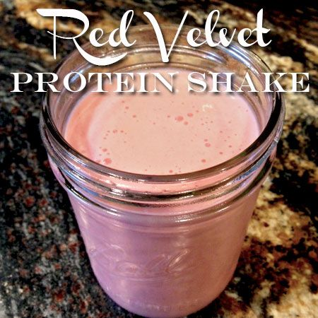 Red Velvet Protein Shake | Atkinson Drive