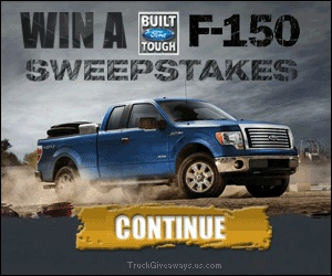 Win a 2012 Motor Trend Truck of the Year Ford F-150!