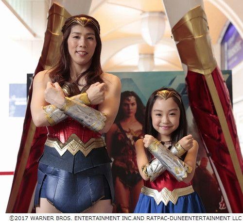 Olympic Freestyle Wrestler Saori Yoshida Cosplays as Wonder Woman