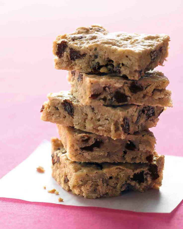 Oatmeal-Raisin Bars Recipe