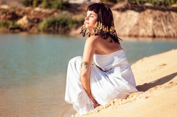 Queen of Egypt by Olena Brodetska