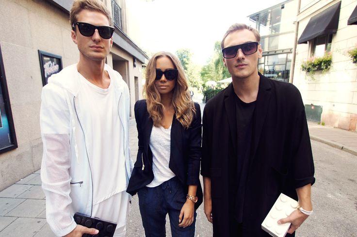 Fashion street in Stockholm #vickydailyinspo