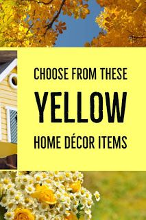 Review This!: Where to Use Yellow in My Home to Promote an Uplif...