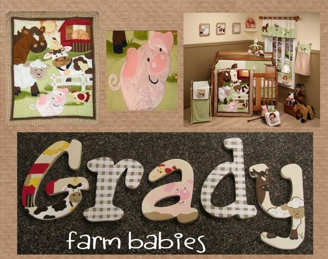69 Best Boys Hand Painted Wooden Nursery Letters By Funky