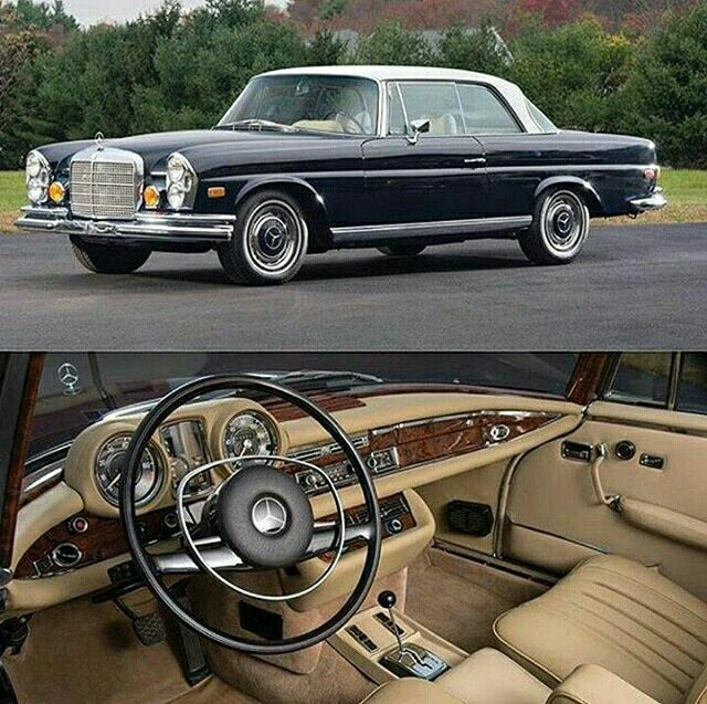 Mercedes-Benz 280 Coupe of 1970