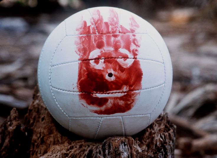 "Real World: This volleyball is a symbol of dying and rising with Christ. ""Wilson"" goes through Tom Hanks' journey of almost certain death, to being saved and rising."