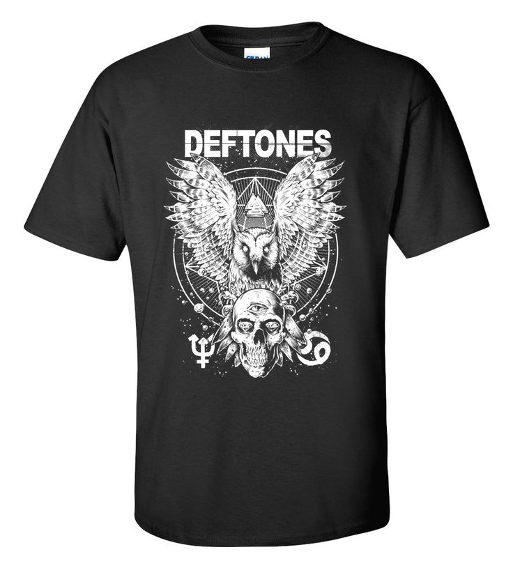 Deftones T-shirt M/L/XL/2XL/3XL Clothing Tshirt