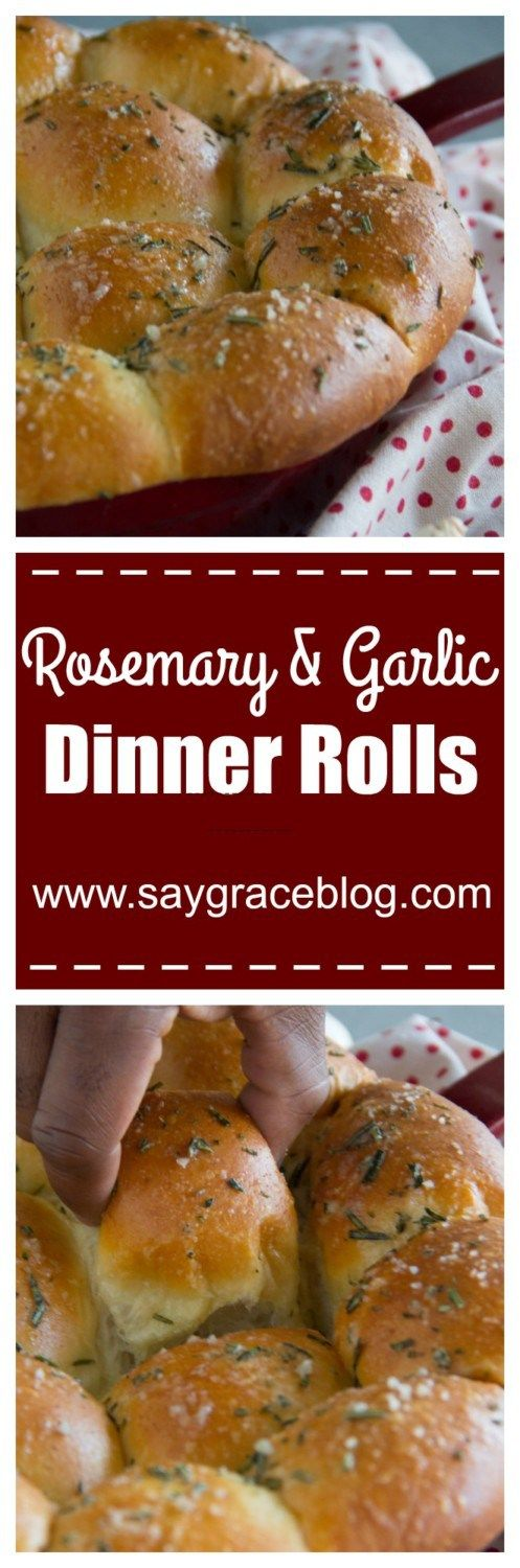 These warm, buttery dinner rolls scented with fresh rosemary, garlic and sea salt are the perfect accompaniment for your holiday feast!!!
