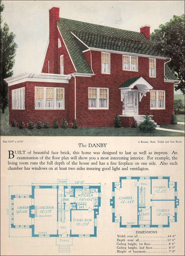 1928 Home Builders Catalog Danby 394