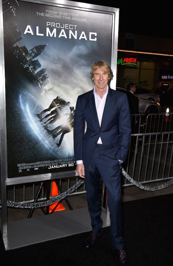"Producer Michael Bay attends the premiere of Paramount Pictures' ""Project Almanac"" at TCL Chinese Theatre  Looking for a fun thriller to see in theaters? Check out Project Almanac #ProjectAlmanac #CastPhotos #Premiere  Read more at: http://www.redcarpetreporttv.com/2015/01/30/looking-for-a-fun-thriller-to-see-in-theaters-check-out-project-almanac-projectalmanac-castphotos-premiere/"