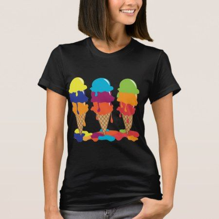 Ice Cream Shirt - click/tap to personalize and buy