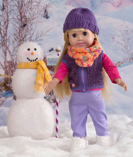 Knitting Pattern For Dolls Beanie : 253 best images about 18 inch doll pattern -crochet & knit on Pinterest ...