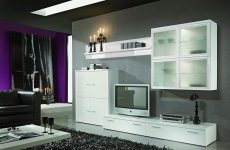 Modern wall tv units