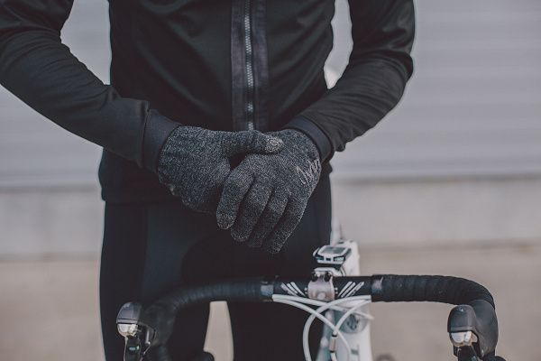 Isadore - Merino Cycling Gloves - Touch screen friendly yarn added into the fingertips allows you to operate your device without removing the gloves. #roadisthewayoflife #cyclingmemories