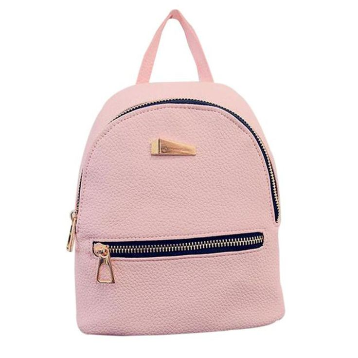 Women's Backpack 3157 School Bag Zipper Pocket Backpacks For Teenage Girls Women Black Bags Backpack Mochila Feminina #2811