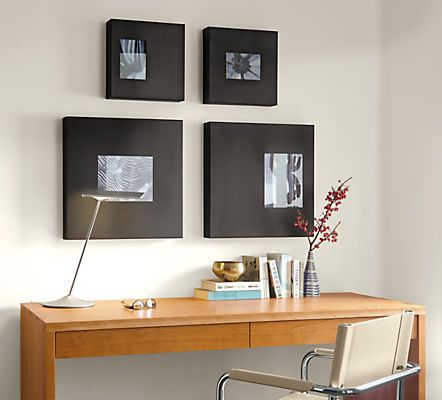 Made in Minnesota by a family-owned steel shop, our exclusive Manhattan Box Frames add unique sculptural style to your walls.