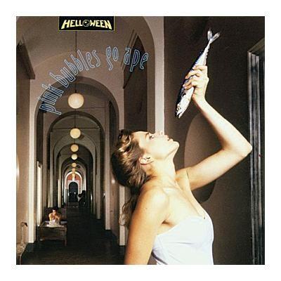 """L'album degli #Helloween intitolato """"Pink Bubbles Go Ape"""" in versione ampliata in confezione Deluxe con 4 bonus track!"""