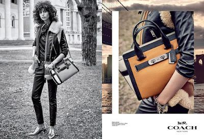 Coach For The Winter Steven Meisel shoots Mica Arganaraz, Kayla Scott, Lexi Boling, Fei Fei Sun & Maartje Verhoef for Coach Fall/Winter 2015/2016. Styled by Karl Templer. Hair by Guido Palau. Make-up by Pat McGrath.