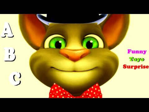 Talking Tom ABC Song Back to School Cartoon Games Video Kids Funny Toyo Surprise…