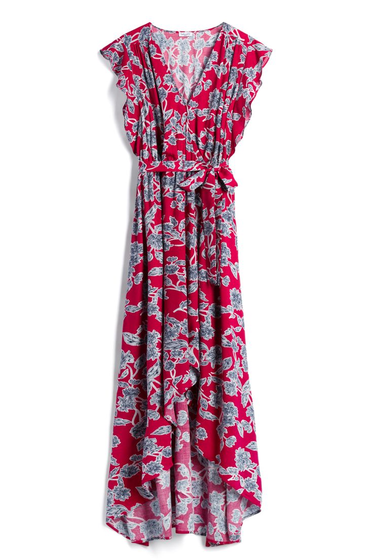 "Floral maxi dress from Stitch Fix. #ad // When you sign up for Stitch Fix, your ""Stylist"" will send the perfect pieces right to your doorstep! Fill out a quick style profile online, set your budget and try on handpicked styles in your own home. Keep what you love and send the rest back. Free shipping & returns!"