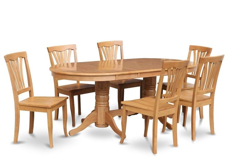 Oak Dining Room Table And Chairs - oak dining room set  eBay Oak dining  table