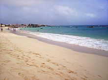 Santa Maria (Portuguese for Saint Mary) is a fishing city situated in the southern part of the island municipality of Sal, Cape Verde. The c...