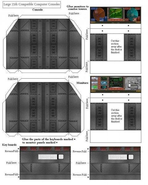 Large 25th Compatible Computer Consoles II | G.I.joe ...