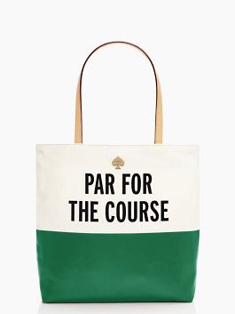 Kate Spade Starwood par for the course tote ~ I think this needs to be my next tote bag!! ❤❤❤⛳⛳⛳