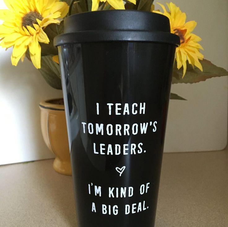"""Tomorrow's leaders"" Travel Mug"