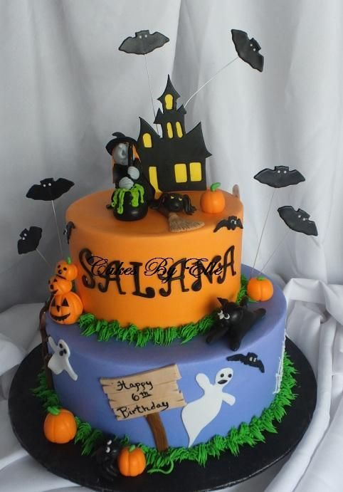looking for cake decorating project inspiration check out halloween cake by member - Halloween Cakes Decorations
