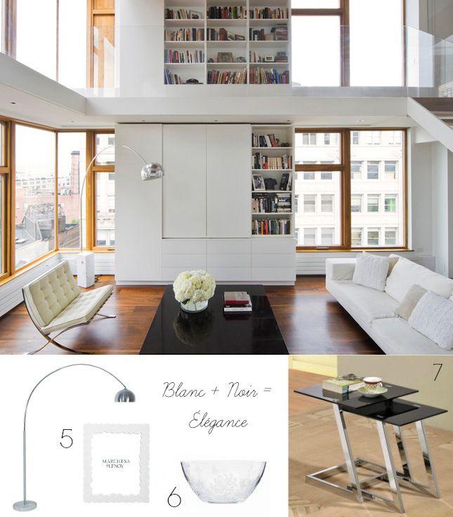 40 splendides façons de décorer avec une lampe en arc - La Vie LC