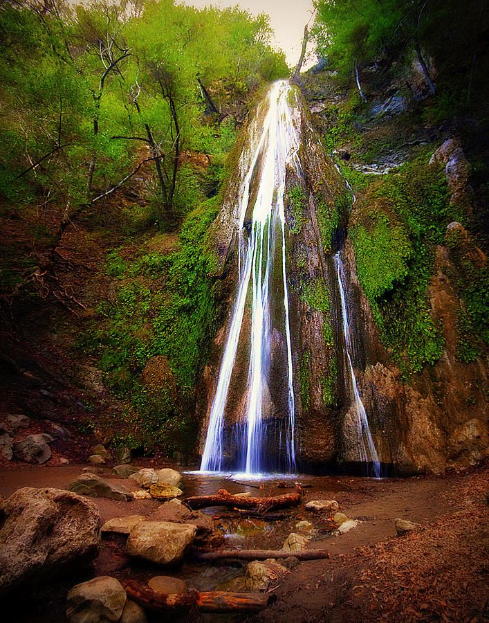 Nojoqui Falls - Santa Barbara, California.. beautiful little walk up to the fall