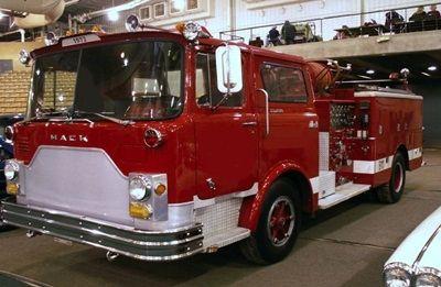 1972 Mack: The Ultimate Tailgate Fire Truck (U0531)