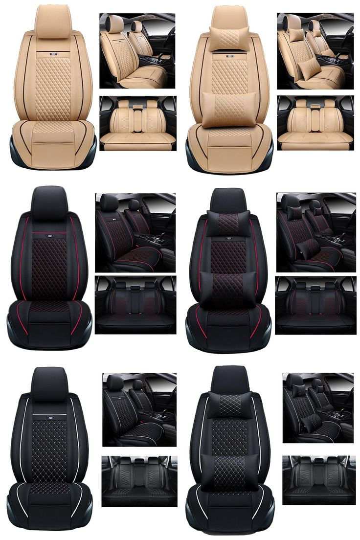 [Visit to Buy] Front and Rear Seats cover for Volvo C30 Car Seat Cover Set Airbag Compatible Custom Fit Car Seats Protection car-styling #Advertisement