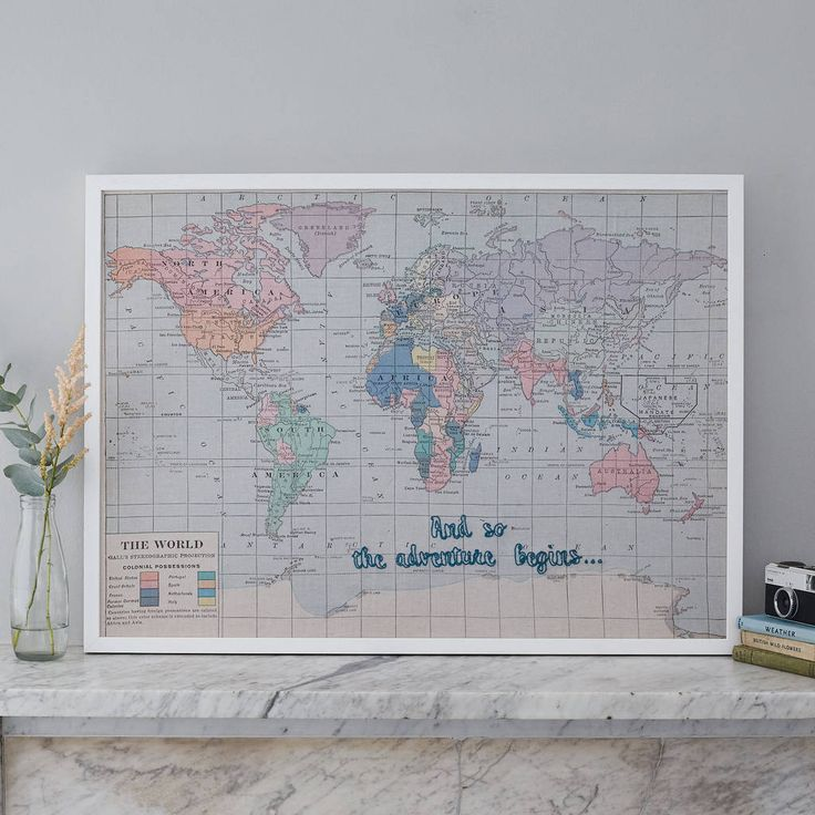 The 25 best world map pin board ideas on pinterest world map and so the adventure begins map notice board sciox Gallery