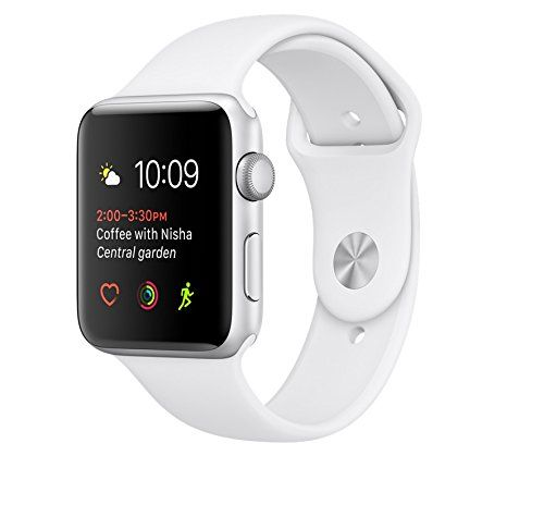 Apple watch SERIES 2 38mm ALUMINUM SPORT BAND (Silver Aluminum case with white sport band) Stay connected in style with the 38mm Apple Watch Series 2, which comes with a silver anodized Read more http://themarketplacespot.com/apple-watch-series-2-38mm-aluminum-sport-band-silver-aluminum-case-with-white-sport-band/