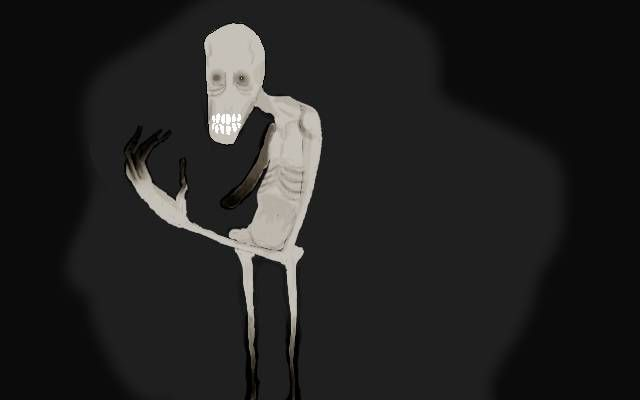 """9.) This artist suffers from a rare case of paranoid schizophrenia that causes him to have visual hallucinations. One of these visions is a figure named """"Wither,"""" shown below."""