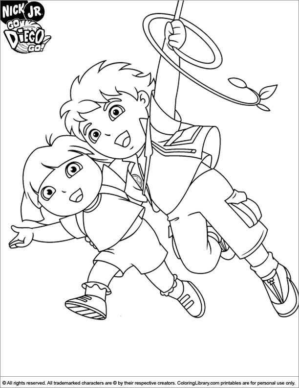 diego baby jaguar coloring pages - photo#36