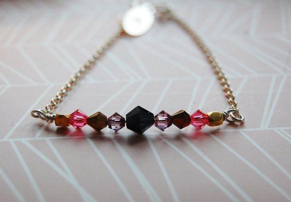 Sterling silver bracelet  sparkling bracelet  bling by AasJewelry
