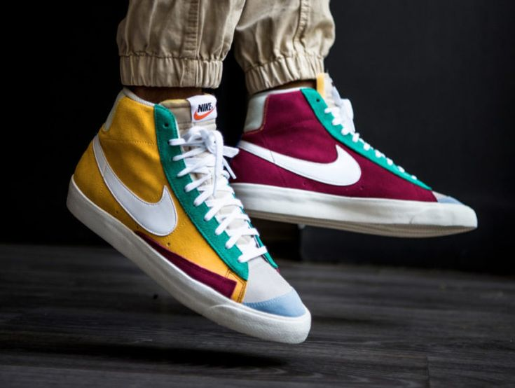 Faut-il acheter la Nike Blazer Mid 77 VNTG Suede Multicolor CI1167 ...