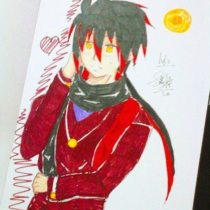 Finished, Ivlis by me  Oh, he is so handsome! >/////< #drawing #doodle #anime #animeartshelp #art #fanart #manga #ivlis #mogeko #mogemoge #sketch #sketchart #instamood #instagram #instaart