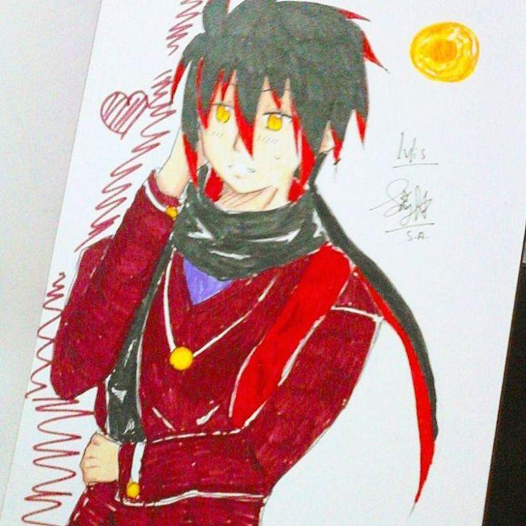 Finished, Ivlis by me  Oh, he is so handsome! >/////< #drawing #doodle #anime #animeartshelp #art #fanart #manga #ivlis #mogeko #mogemoge #sketch #sketchart #instamood #instagram #instaart