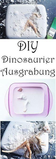 Dino-Ausgrabungsset selber machen